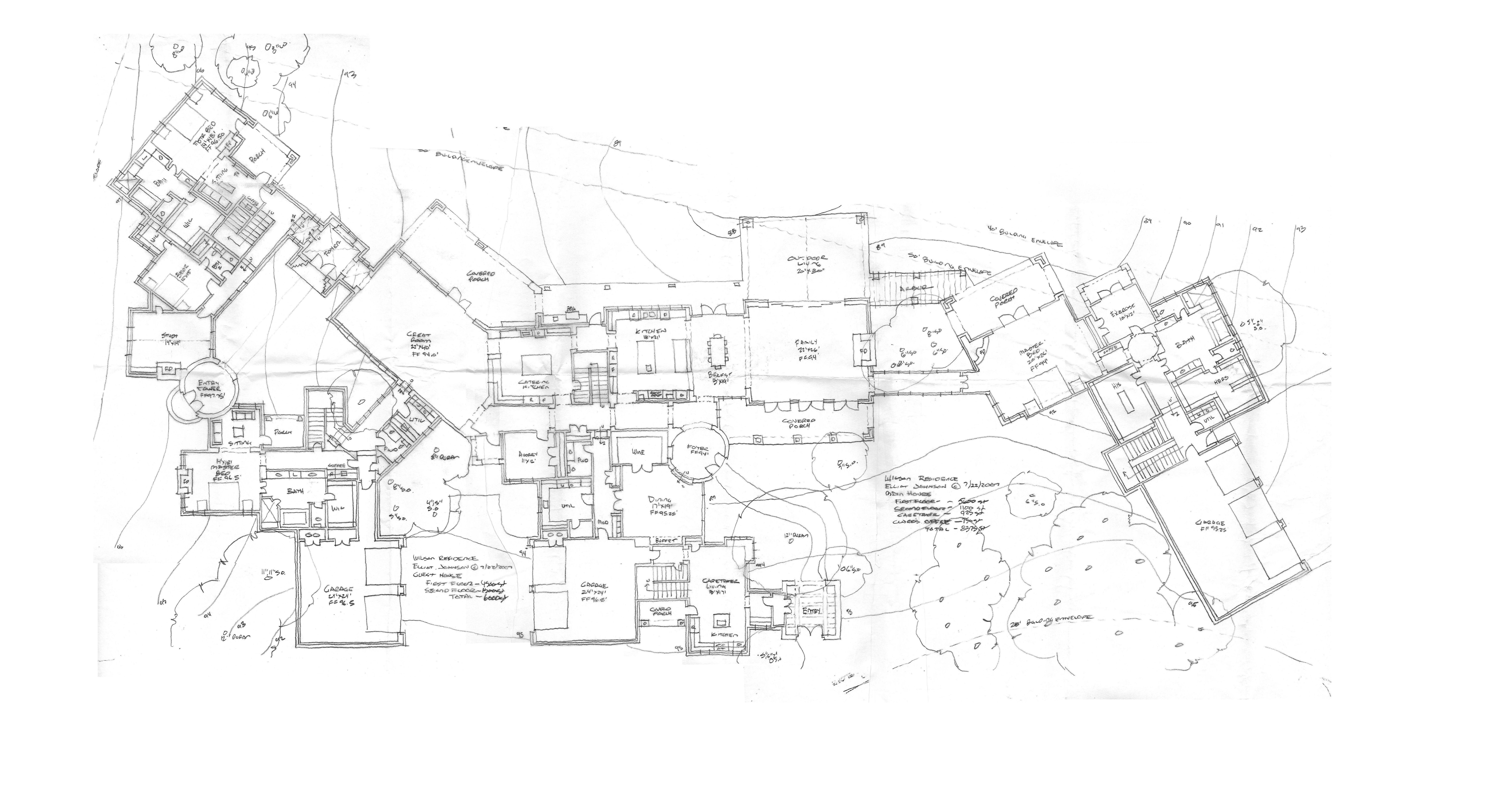 12,000 S.f.   Spanish Oaks   Tuscan; First Floor ...