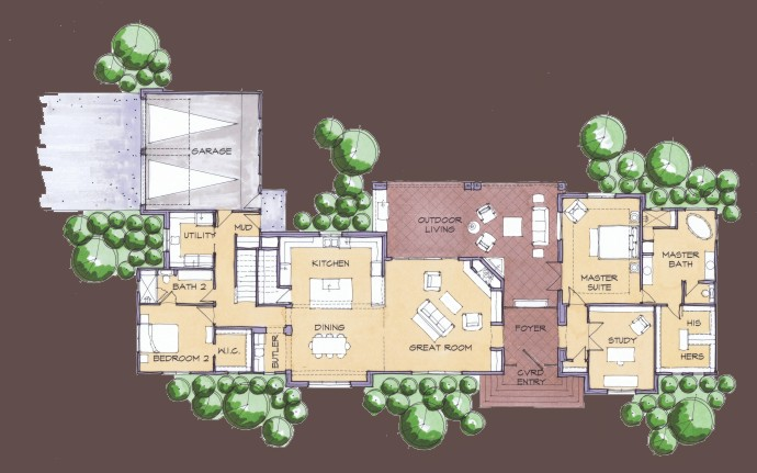 Mid century modern floor plans find house plans Mid century modern home plans